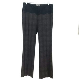 Anthro Elevenses The Brighton Lace Trouser Pants